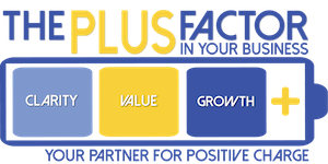 The Plus Factor Logo